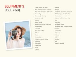 Equipments Used Extension Ppt Powerpoint Presentation Slides Images