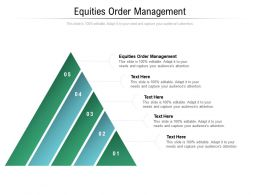 Equities Order Management Ppt Powerpoint Presentation Slides Smartart Cpb