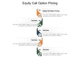 Equity Call Option Pricing Ppt Powerpoint Presentation Slide Cpb