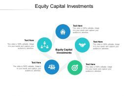 Equity Capital Investments Ppt Powerpoint Presentation File Example Cpb