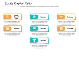 Equity Capital Ratio Ppt Powerpoint Presentation Styles Microsoft Cpb