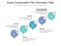 Equity Compensation Plan Information Table Ppt Powerpoint Presentation Slides Background Designs Cpb
