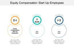 Equity Compensation Start Up Employees Ppt Powerpoint Presentation Show Designs Download Cpb