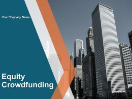 Equity Crowdfunding Powerpoint Presentation Slides