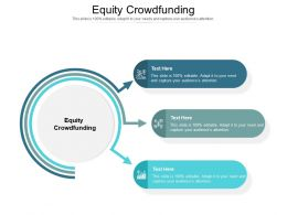 Equity Crowdfunding Ppt Powerpoint Presentation Styles Smartart Cpb