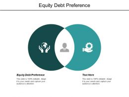 Equity Debt Preference Ppt Powerpoint Presentation Outline Outfit Cpb