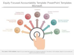 Equity Focused Accountability Template Powerpoint Templates Microsoft