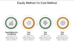 Equity Method Vs Cost Method Ppt Powerpoint Presentation Template Cpb