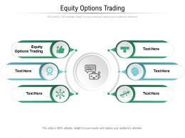 Equity Options Trading Ppt Powerpoint Presentation Outline Mockup Cpb