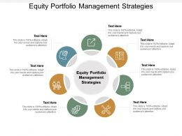 Equity Portfolio Management Strategies Ppt Powerpoint Presentation Icon Slide Portrait Cpb