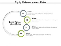 Equity Release Interest Rates Ppt Presentation Professional Background Cpb