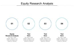 Equity Research Analysis Ppt Powerpoint Presentation Portfolio Templates Cpb