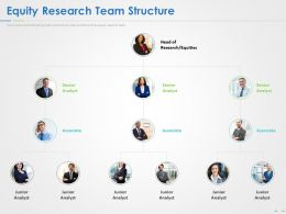 Equity Research Team Structure Ppt Powerpoint Presentation Visual Aids Styles
