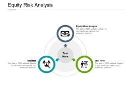 Equity Risk Analysis Ppt Powerpoint Presentation Infographics Templates Cpb