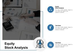 Equity Stock Analysis Ppt Powerpoint Presentation Inspiration Graphics Pictures Cpb