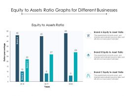 Equity To Assets Ratio Graphs For Different Businesses
