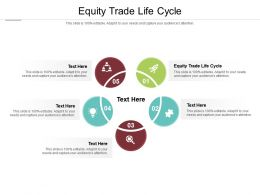 Equity Trade Life Cycle Ppt Powerpoint Presentation Layouts Samples Cpb