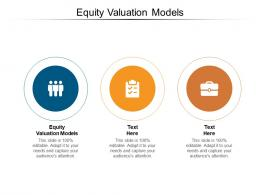 Equity Valuation Models Ppt Powerpoint Presentation File Graphics Example Cpb