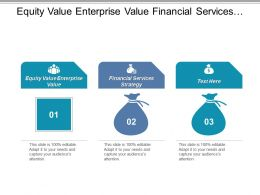 Equity Value Enterprise Value Financial Services Strategy Performance Capability Cpb
