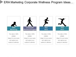 Era Marketing Corporate Wellness Program Ideas Negotiation Skills Cpb