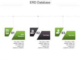 ERD Database Ppt Powerpoint Presentation File Backgrounds Cpb
