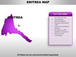 Eritrea Country PowerPoint Maps