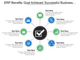 Erp Benefits Goal Achieved Successful Business Points
