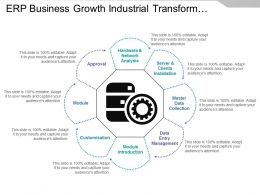 Erp Business Growth Industrial Transformation System