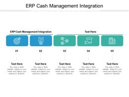 ERP Cash Management Integration Ppt Powerpoint Presentation Icon Aids Cpb