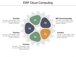 ERP Cloud Computing Ppt Powerpoint Presentation Slides Smartart Cpb