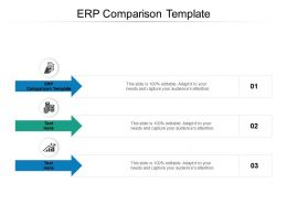 ERP Comparison Template Ppt Powerpoint Presentation File Files Cpb