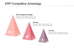 ERP Competitive Advantage Ppt Powerpoint Presentation Summary Deck Cpb