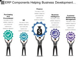 Erp Components Helping Business Development Strategies