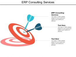 Erp Consulting Services Ppt Powerpoint Presentation Design Ideas Cpb