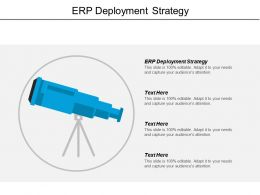 Erp Deployment Strategy Ppt Powerpoint Presentation File Backgrounds Cpb