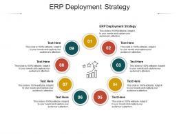 ERP Deployment Strategy Ppt Powerpoint Presentation Ideas Slide Download Cpb