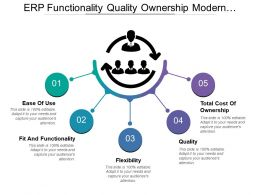 Erp Functionality Quality Ownership Modern Approach