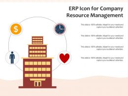 ERP Icon For Company Resource Management