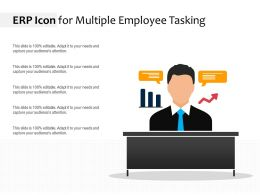 ERP Icon For Multiple Employee Tasking