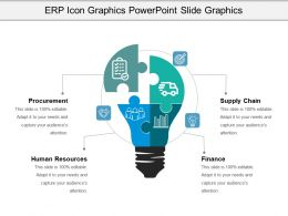 Erp Icon Graphics Powerpoint Slide Graphics