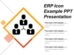 Erp Icons Example Ppt Presentation