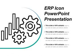 Erp Icons Powerpoint Presentation