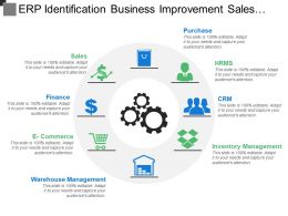 Erp Identification Business Improvement Sales Increasing