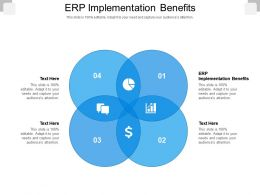 ERP Implementation Benefits Ppt Powerpoint Presentation Ideas File Formats Cpb