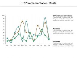 Erp Implementation Costs Ppt Powerpoint Presentation Summary Cpb