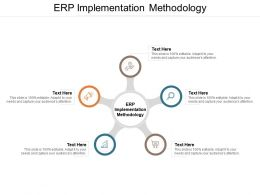 ERP Implementation Methodology Ppt Powerpoint Presentation File Design Templates Cpb