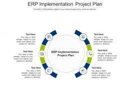 ERP Implementation Project Plan Ppt Powerpoint Presentation Ideas Sample Cpb