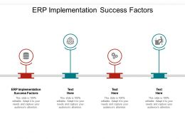 ERP Implementation Success Factors Ppt Powerpoint Presentation Icon Templates Cpb