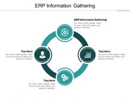 ERP Information Gathering Ppt Powerpoint Presentation Infographics Deck Cpb