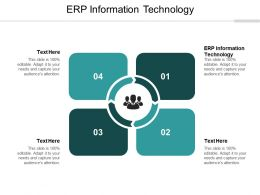 ERP Information Technology Ppt Powerpoint Presentation Model Sample Cpb